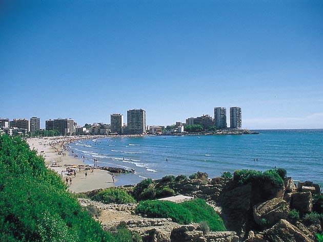 Vista panorámica, playa de la Concha, Oropesa del Mar
