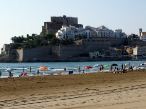 Vista del Castillo de Papa Luna