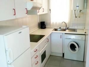 Cocina de los Apartamentos Font Nova 3000