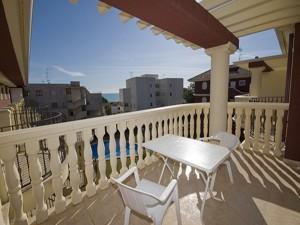 Terraza en Apartamentos Madeira 3000