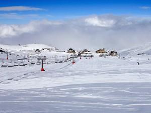 Estacion de esquí Sierra Nevada