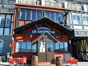 Exterior Restaurante La Antorcha