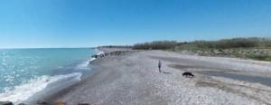 Playa para perros en Moncofar