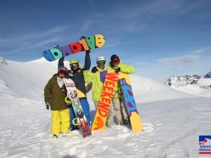Pista de esquí en Sierra Nevada
