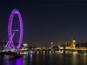 Vistas nocturnas de Londres