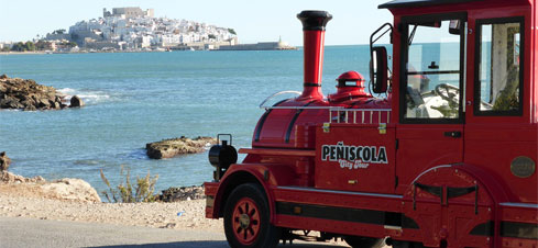 Tren turístico Peñiscola