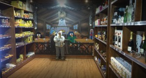 Supermercado Snowpeople Sierra Nevada