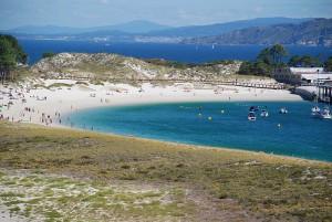 Playa de Rodas Islas Cies