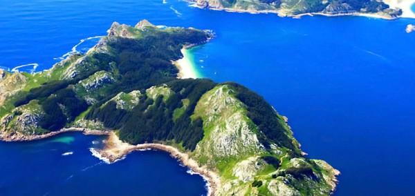 Islas Cies Panorámica