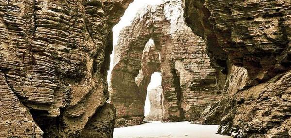 Cabecera Playa de las Catedrales