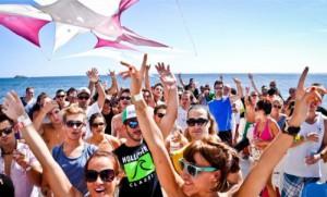 Fiestas en barco Sanxenxo