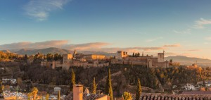 Vista Alhambra Granada