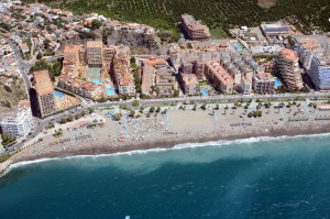 Playa San Cristobal Almunecar