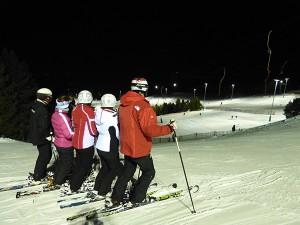 Esquí nocturno Masella