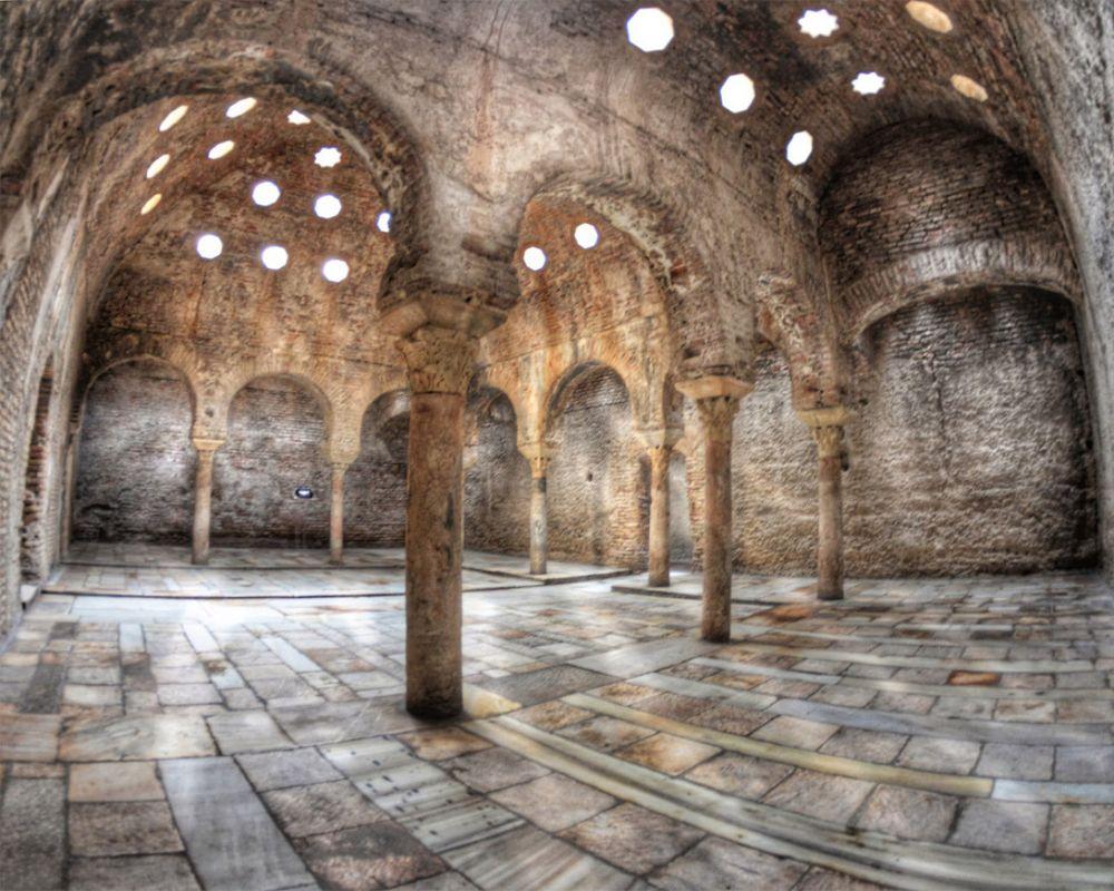 Baños árabes Alhambra