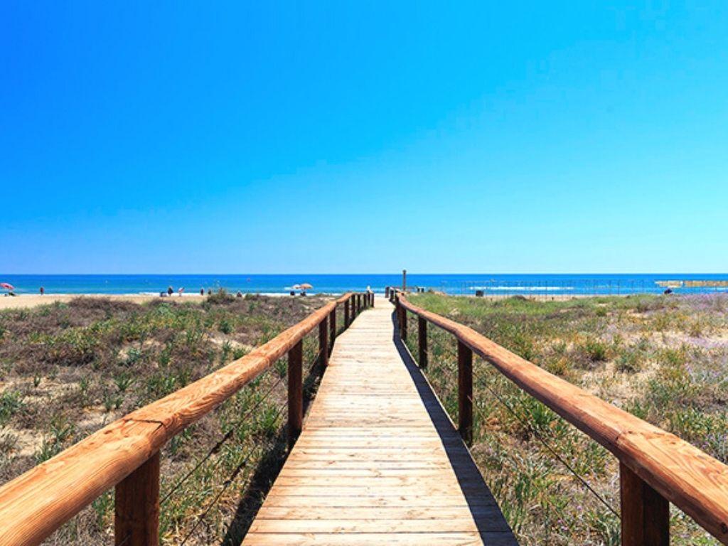 Playa del Cargador. Foto: Plata de las Fuentes. Foto: alcossebre.org
