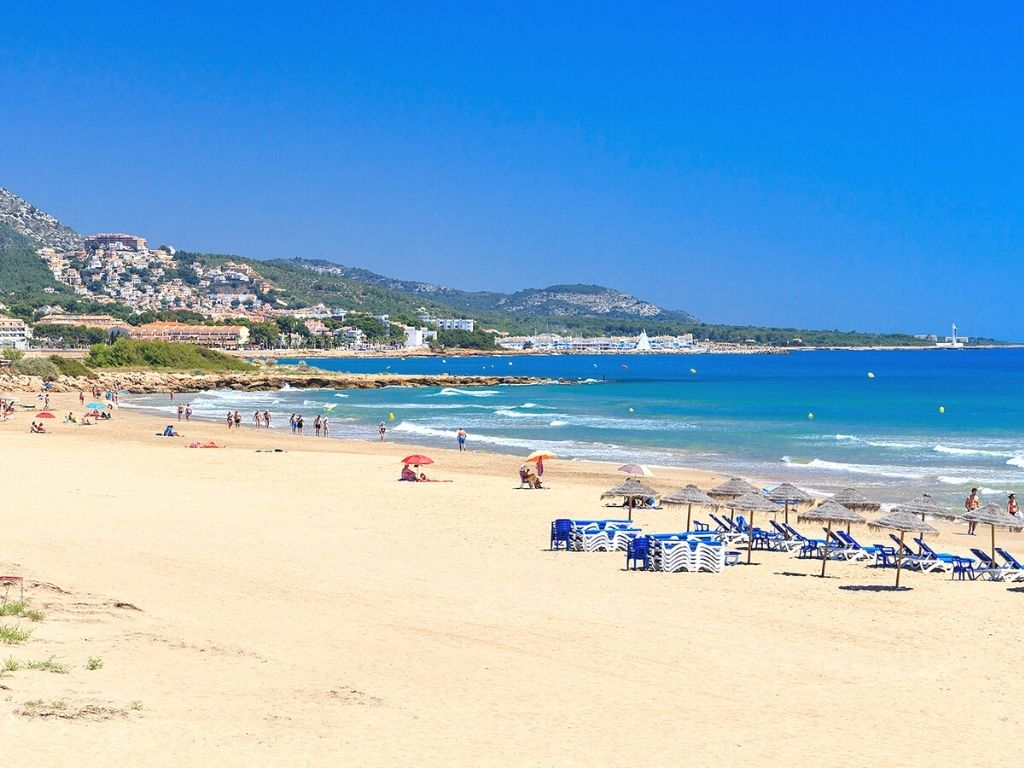 Playa Romana. Foto: alcossebre.org