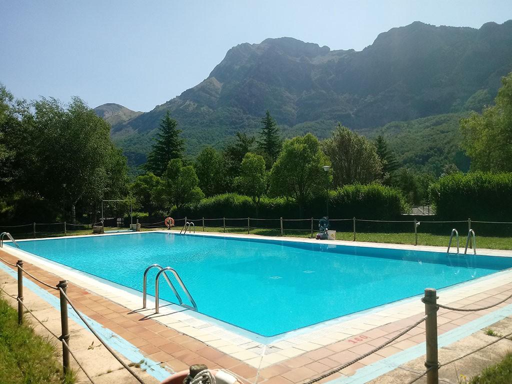 Foto: piscina Bubal Formigal 3000