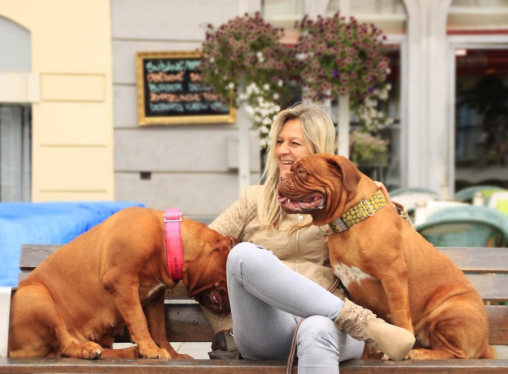 Foto: Con mascotas en la ciudad