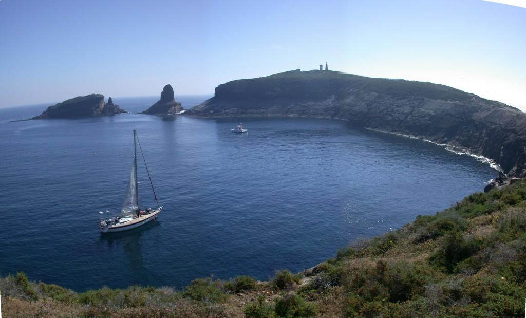 Foto: islas Columbretes