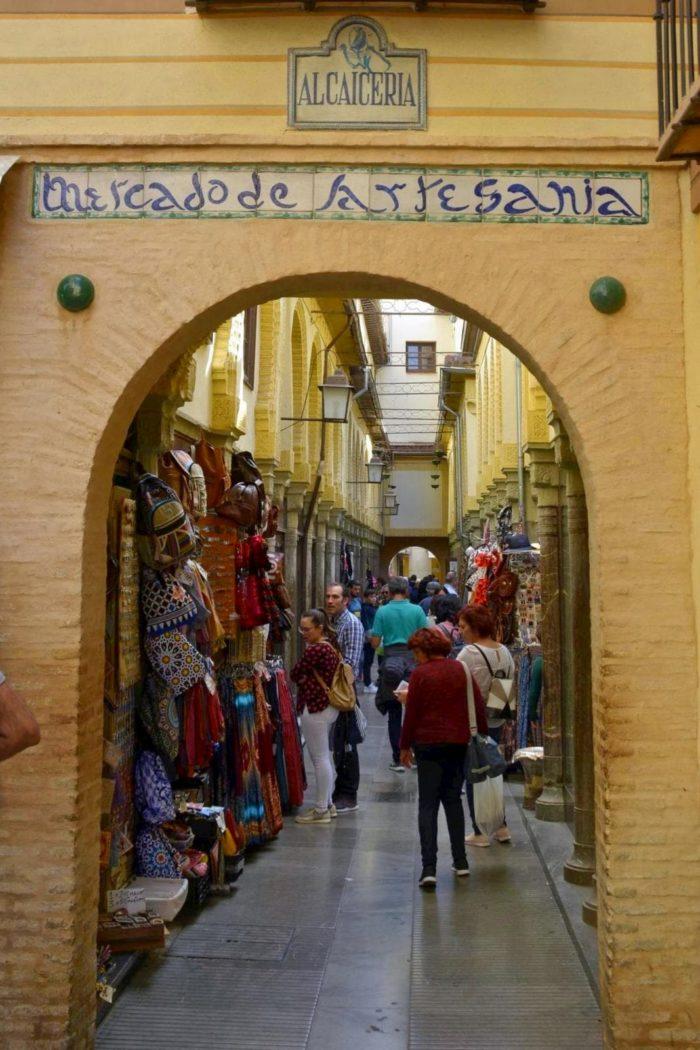 Fotografía de la Alcaicería, Granada