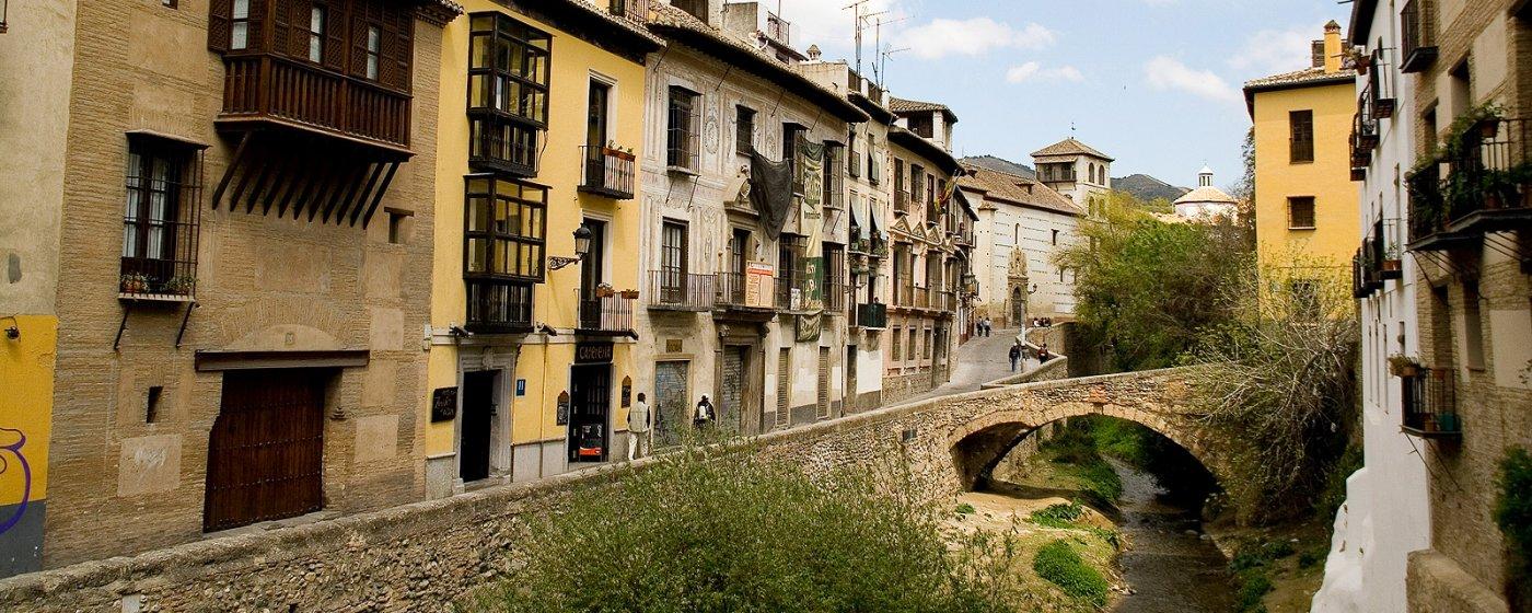 Fotografía de la Carrera del Darro, Granada
