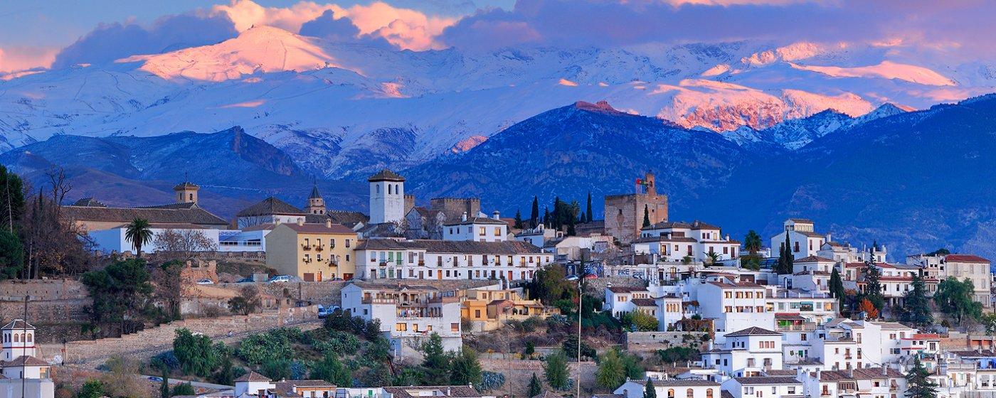 Fotografía del Barrio del Albaicín, Granada
