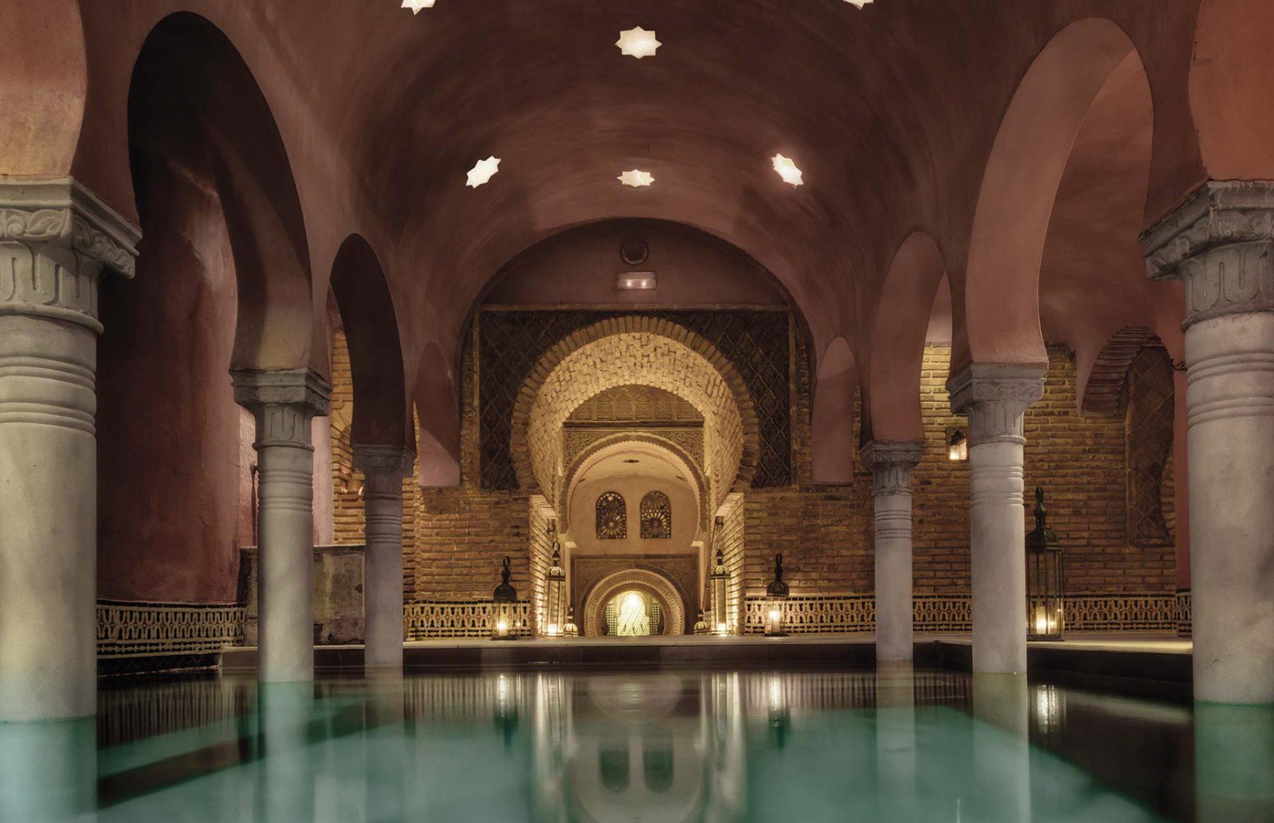 Fotografía interior Hammam Al-Ándalus, Granada