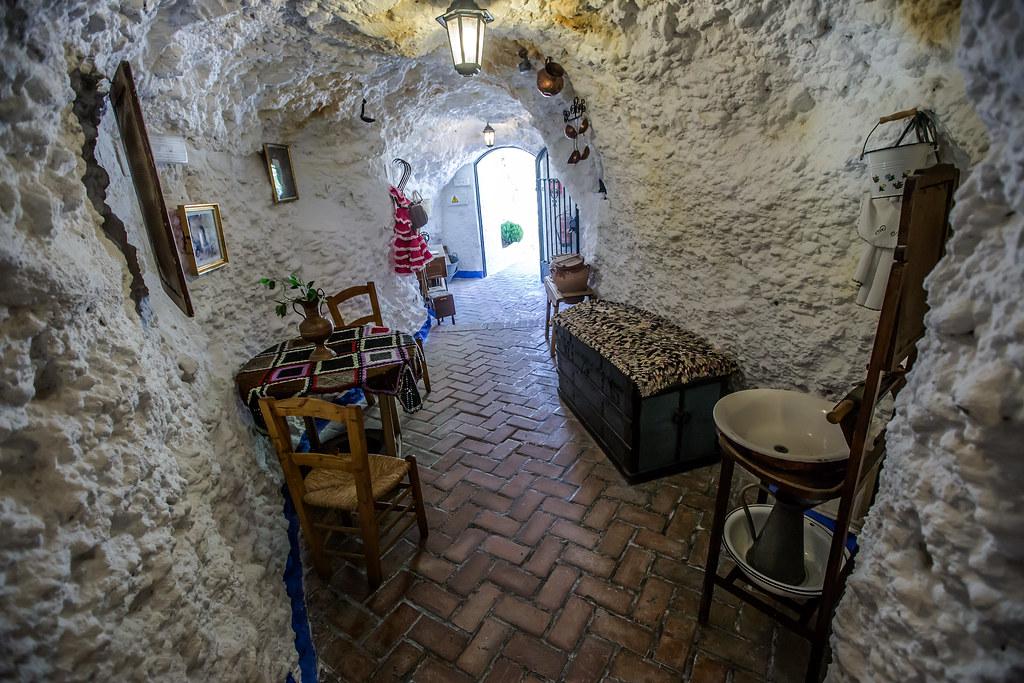 Fotografía de las Casas-cueva del Sacromonte, Granada