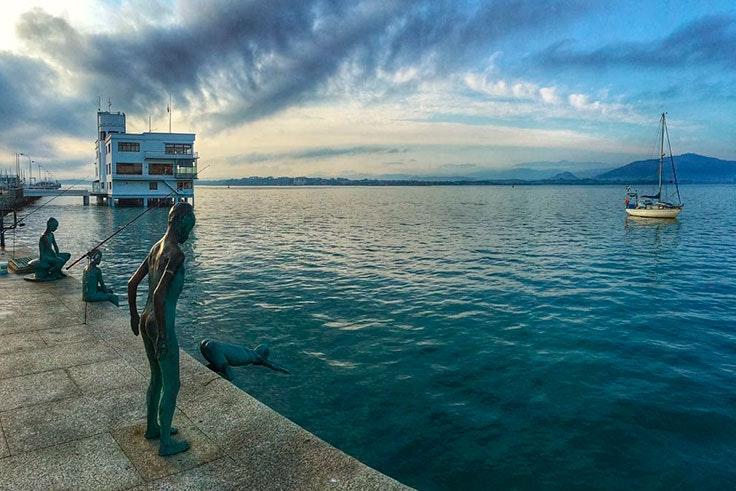 Fotografía de la Bahía de Santander, Cantabria