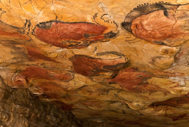 Fotografía de la Cueva de Altamira, Cantabria