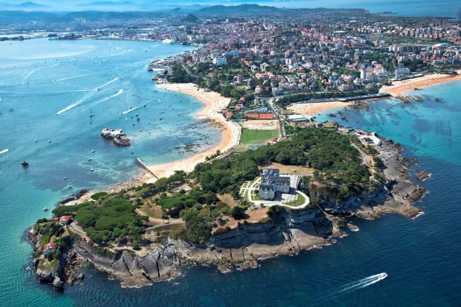 Fotografía vista aérea Santander