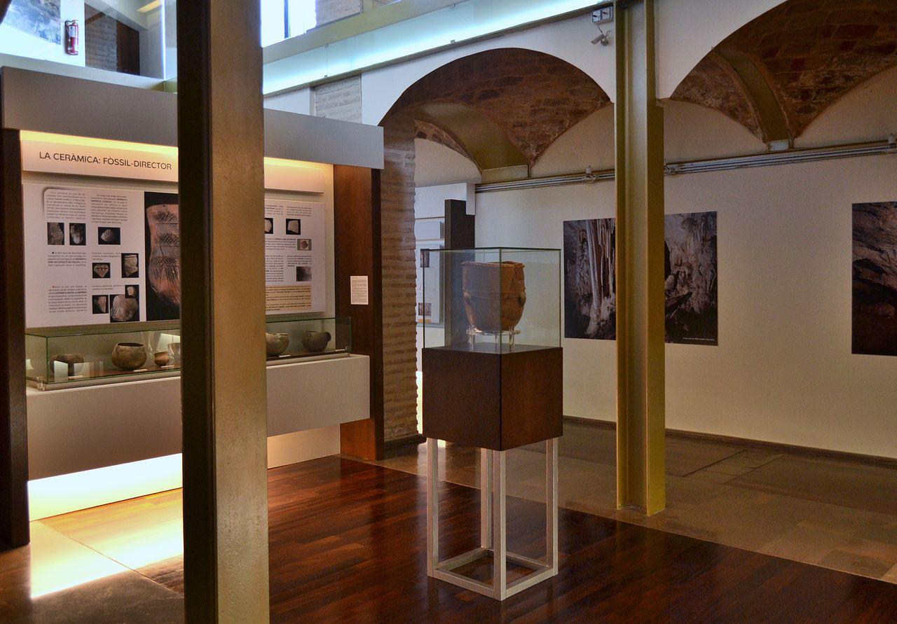 Fotografía del Museu Arqueològic de Gandía