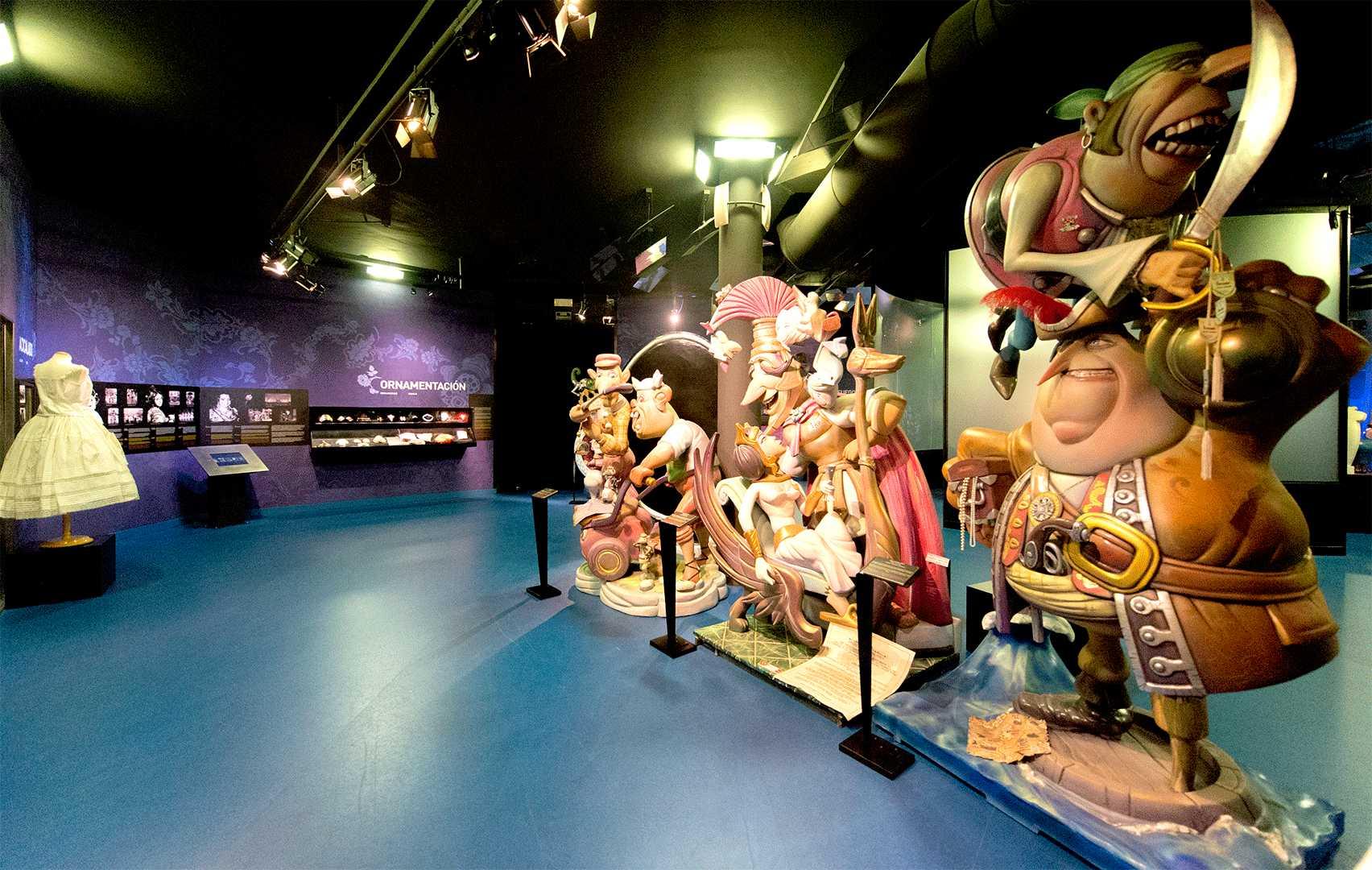 Fotografía del Museu Faller de Gandía
