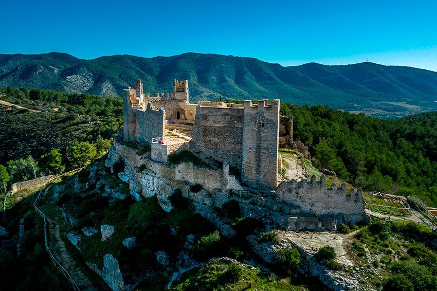 Fotografía del Castillo de Xivert, Alcoceber