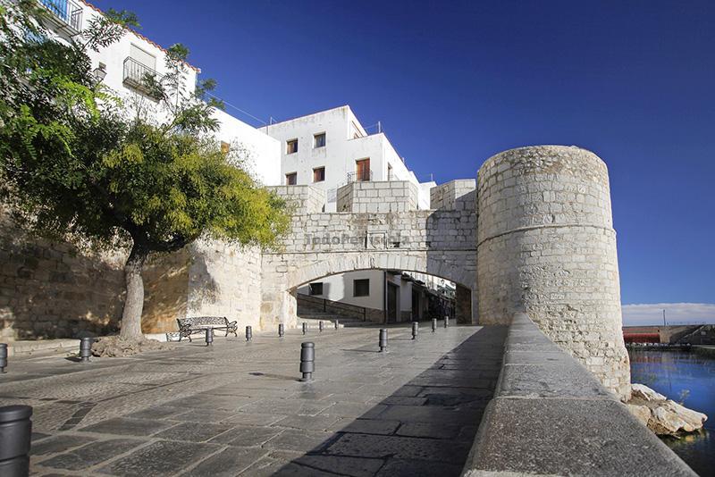 Fotografía del Portal de Sant Pere, Peñiscola
