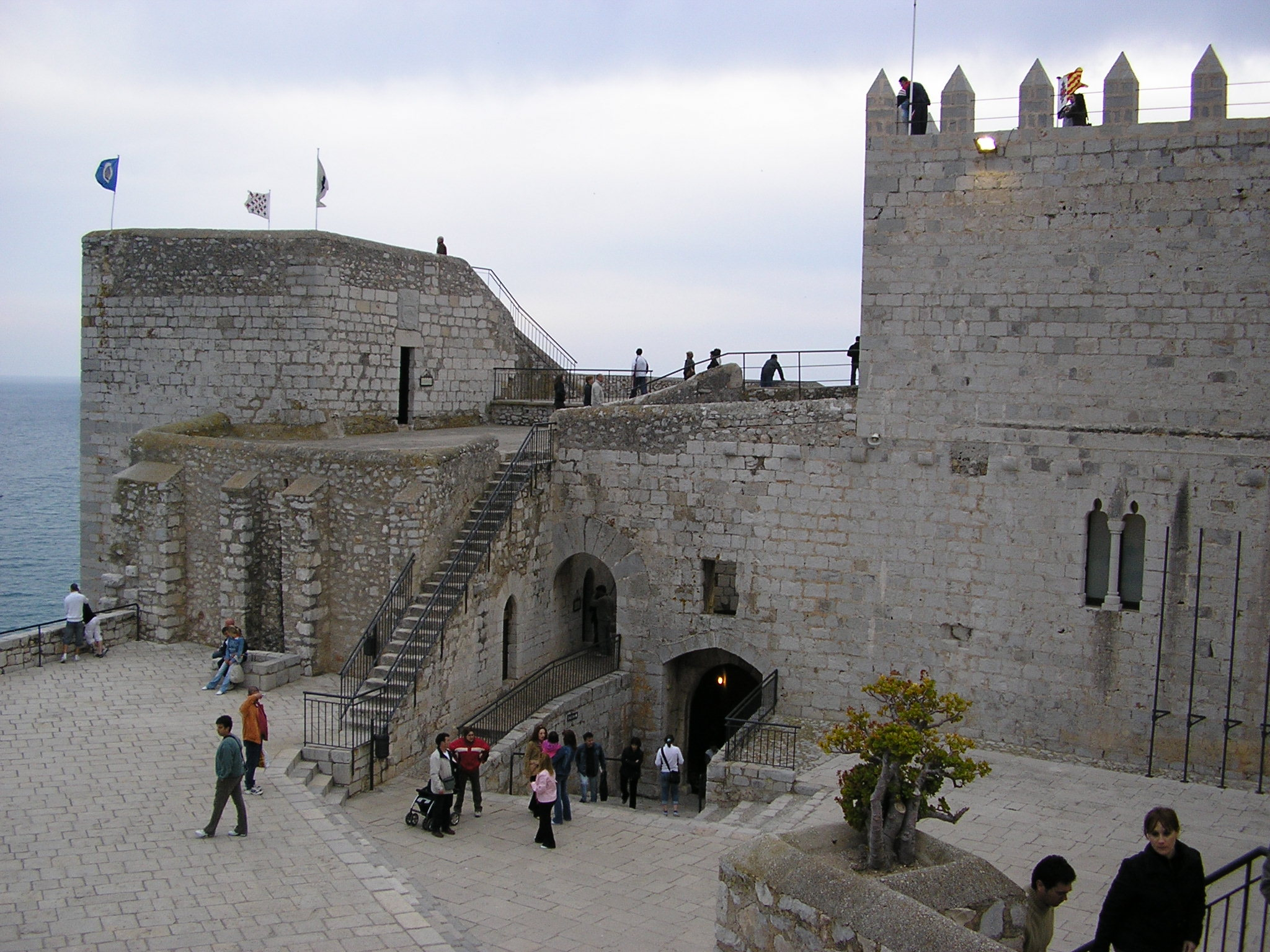 Fotografía del Castillo de Peñíscola