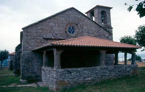 Fotografía de la Iglesia de Santa Eulalia de Lubre