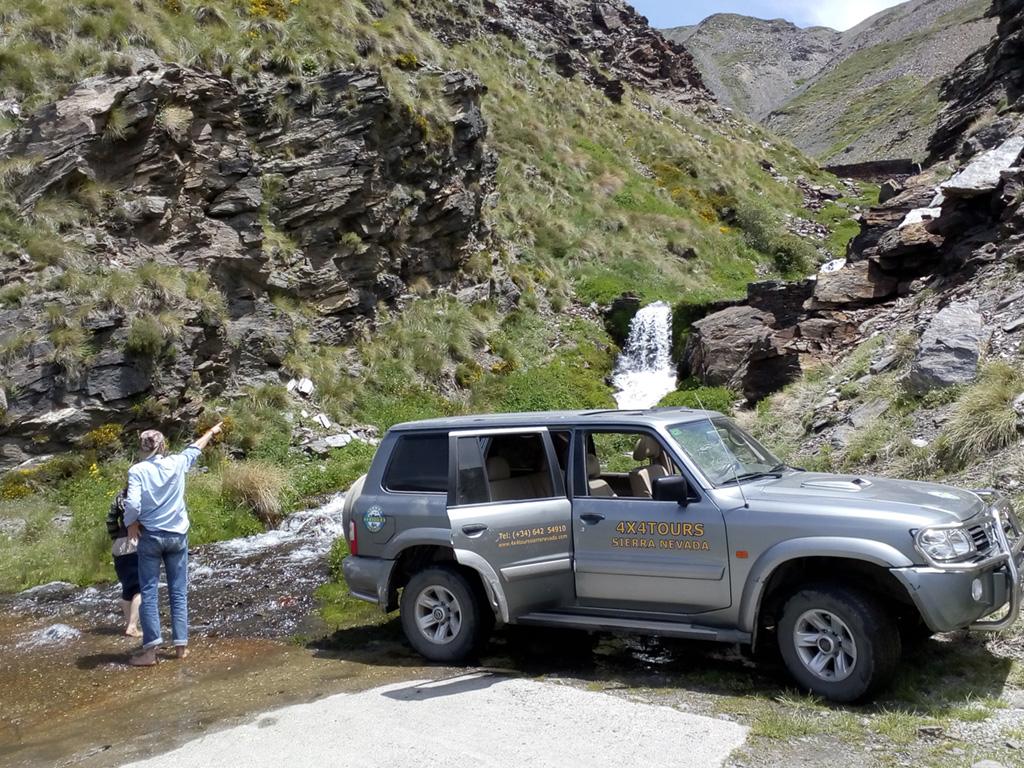 Fotografía del Safari 4x4 en Sierra Nevada