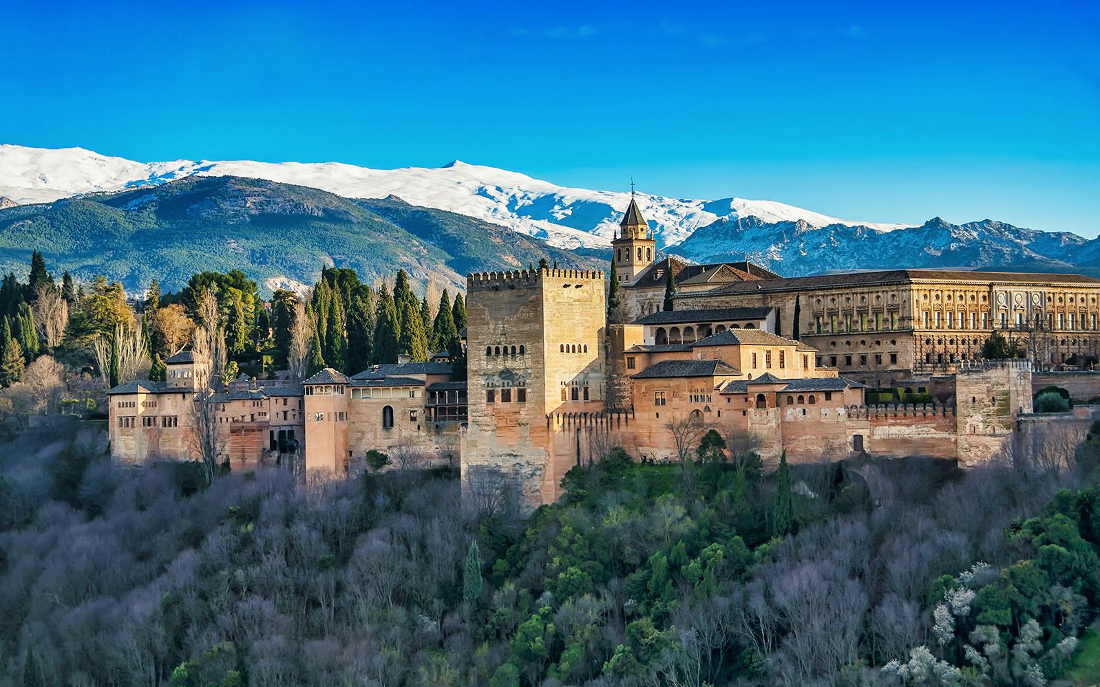 Fotografía de la Alhambra de Granada