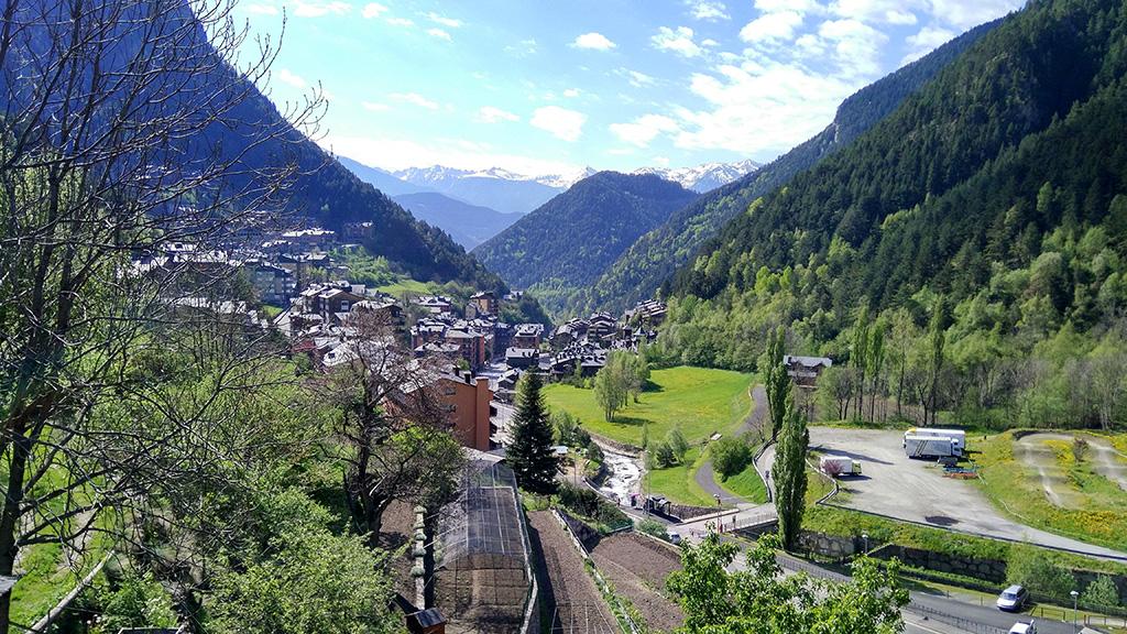 Fotografía de las vistas desde los Apartamentos Arinsal 3000, Andorra