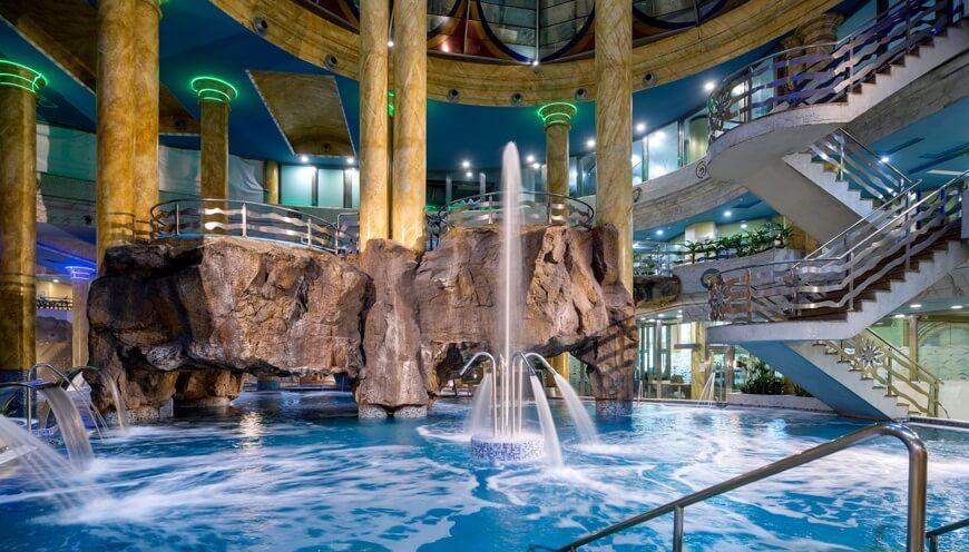 Fotografía del interior del Balneario de Marina D'Or, Oropesa