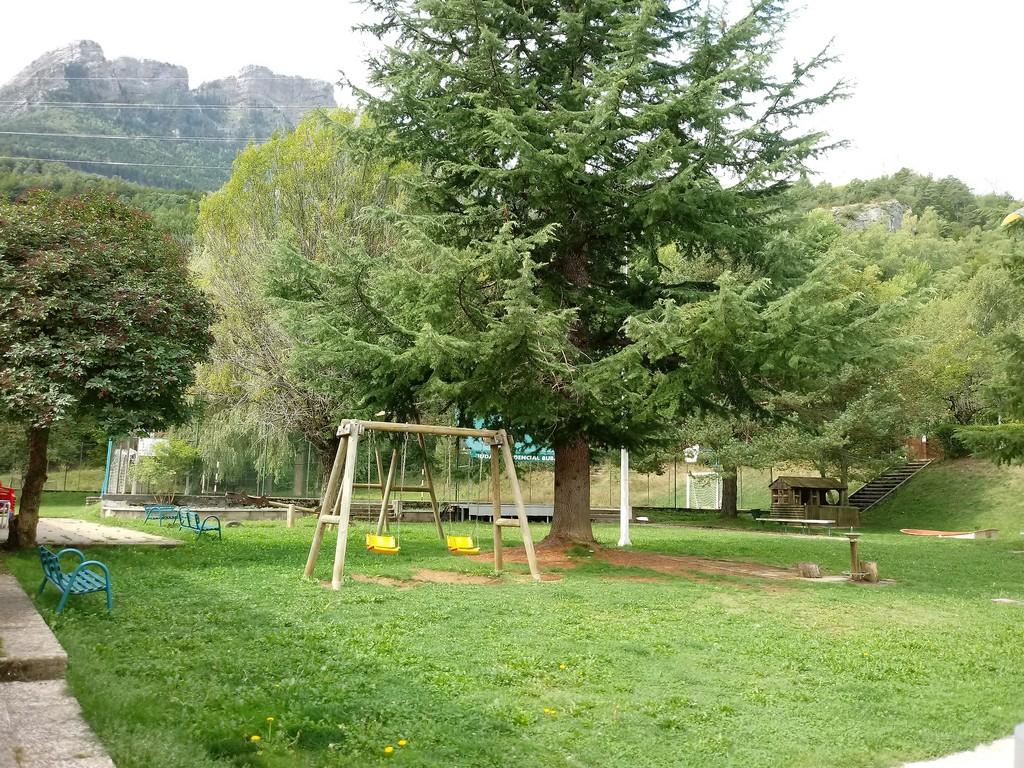 Fotografía del Parque infantil en el Complejo Búbal Formigal 3000