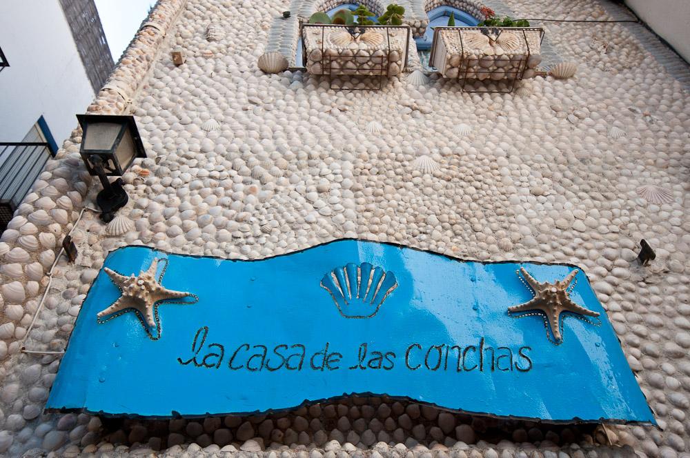 Fotografía de la Casa de las Conchas, Peñíscola