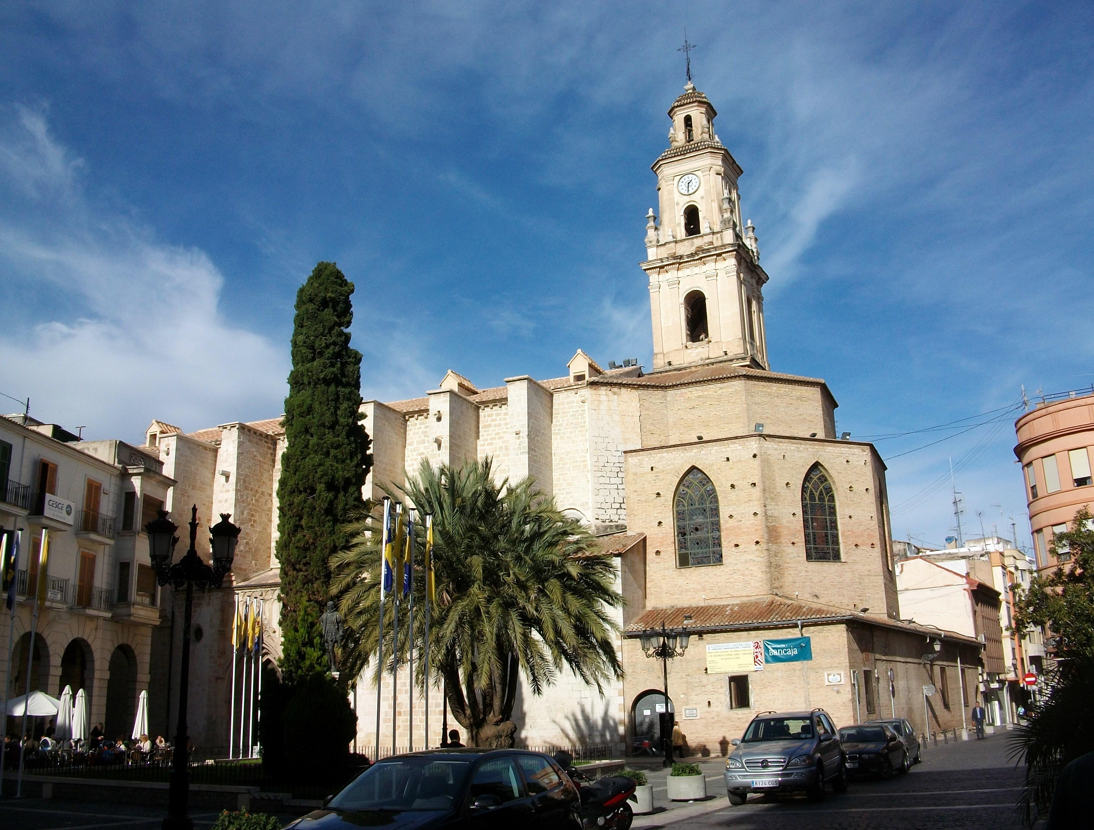 Fotografía de la Colegiata de Santa María, Gandía