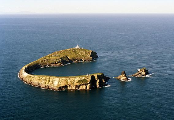Fotografía de las Islas Columbretes, Peñíscola