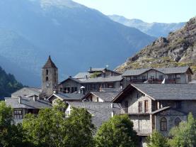 Ordino panorama Andorra Estación Vallnord Ordino