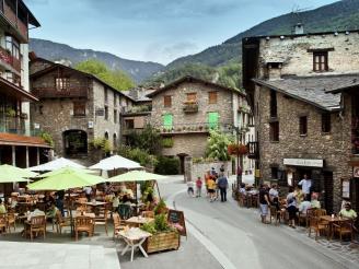 Restaurante terraz Ordino