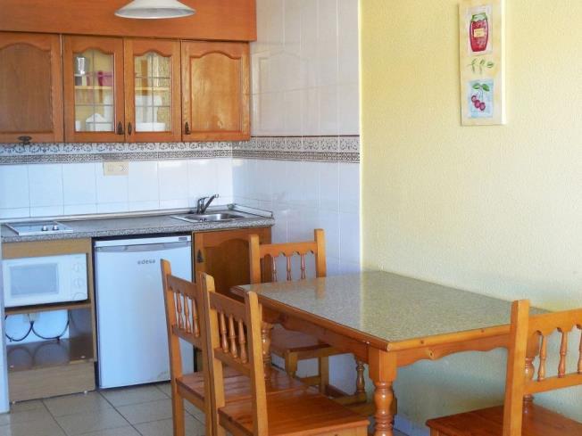 Cocina Apartamentos Habitat--Playa Romana 3000 Alcoceber