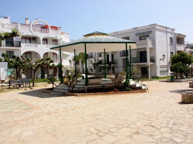 Jardín Apartamentos Habitat--Playa Romana 3000 Alcoceber